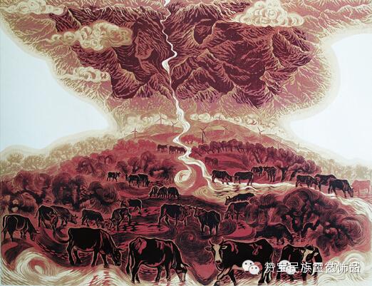 中国当代民族版画国际巡展将在蒙古国开展[组图] 第35张
