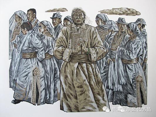 中国当代民族版画国际巡展将在蒙古国开展[组图] 第53张