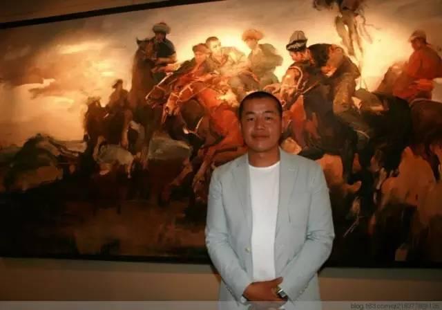 一画|蒙古国著名艺术家 Badam.Otgoo 油画作品 第2张