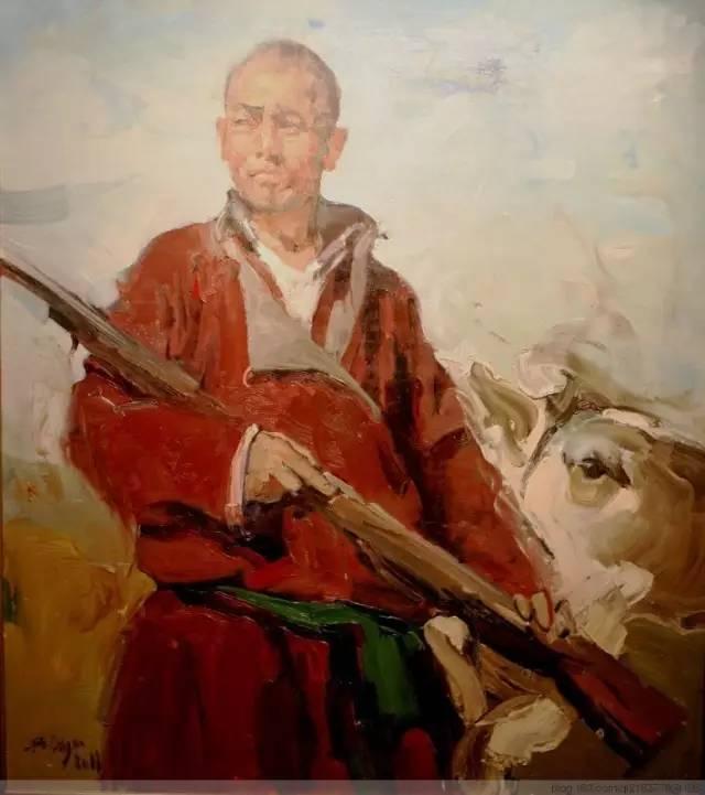 一画|蒙古国著名艺术家 Badam.Otgoo 油画作品 第14张