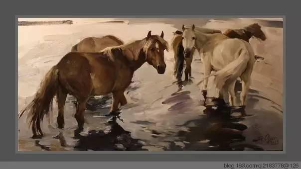 一画|蒙古国著名艺术家 Badam.Otgoo 油画作品 第27张