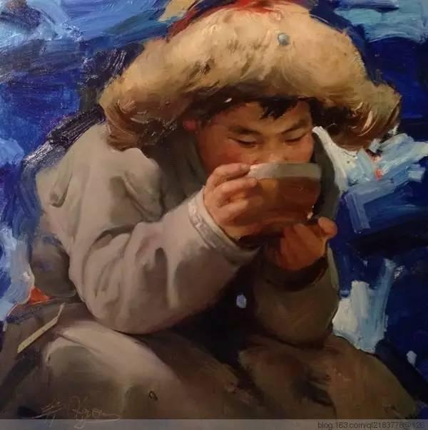 一画|蒙古国著名艺术家 Badam.Otgoo 油画作品 第24张