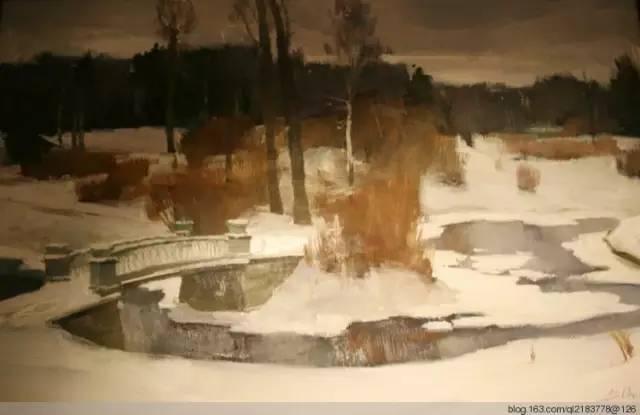 一画|蒙古国著名艺术家 Badam.Otgoo 油画作品 第33张