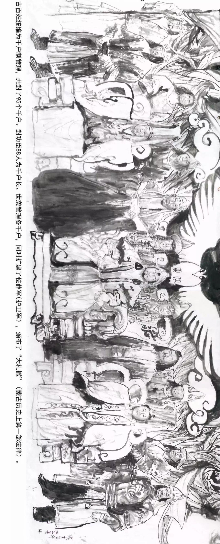 【经典】《蒙古魂》国画写意,大师所创,值得收藏。 第12张