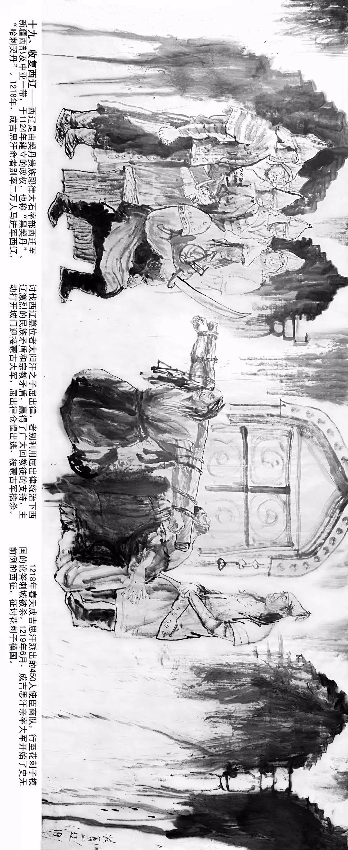 【经典】《蒙古魂》国画写意,大师所创,值得收藏。 第17张
