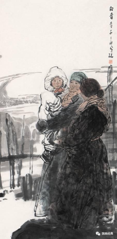 【国画经典】第34期·内蒙古美协副主席鲍凤林精品展 第3张