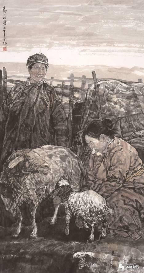 【国画经典】第34期·内蒙古美协副主席鲍凤林精品展 第4张
