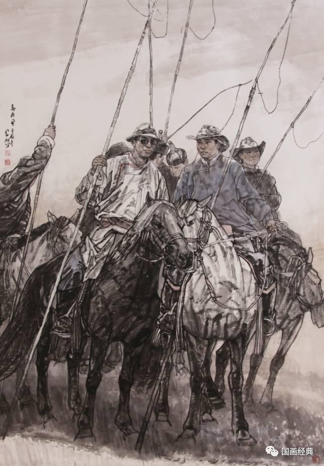 【国画经典】第34期·内蒙古美协副主席鲍凤林精品展 第6张