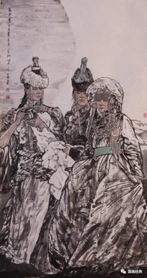 【国画经典】第34期·内蒙古美协副主席鲍凤林精品展 第5张