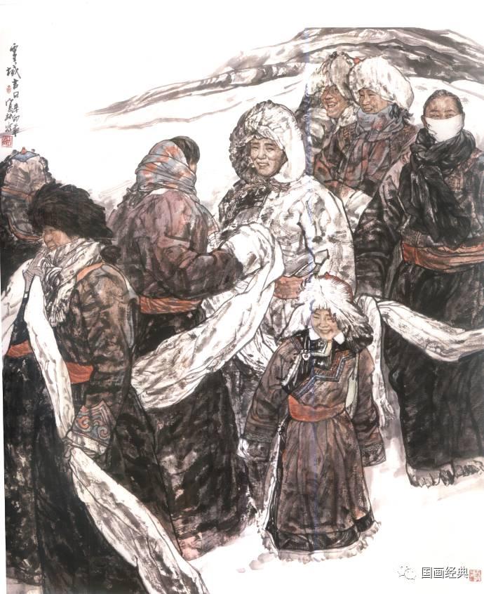 【国画经典】第34期·内蒙古美协副主席鲍凤林精品展 第7张