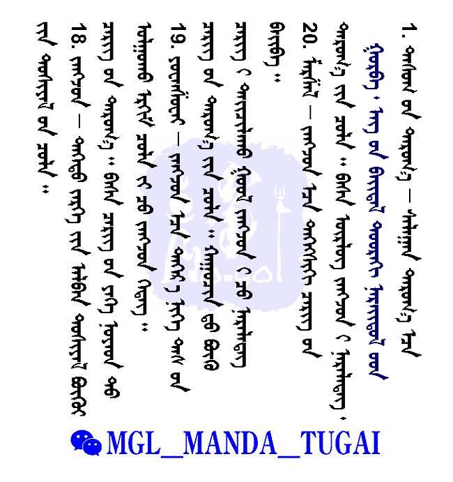 部队建制--蒙古名词解释 — Cergiin Tuhai Nerdel(蒙古文) 第7张
