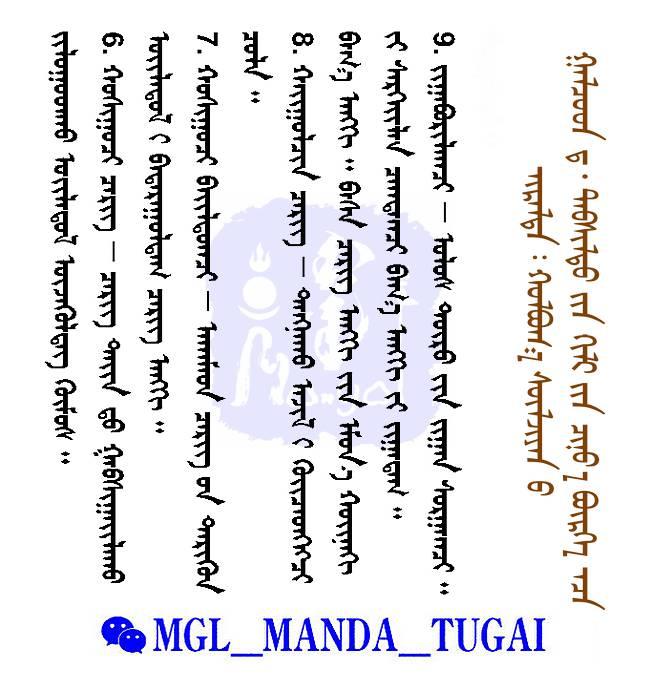 部队建制--蒙古名词解释 — Cergiin Tuhai Nerdel(蒙古文) 第9张