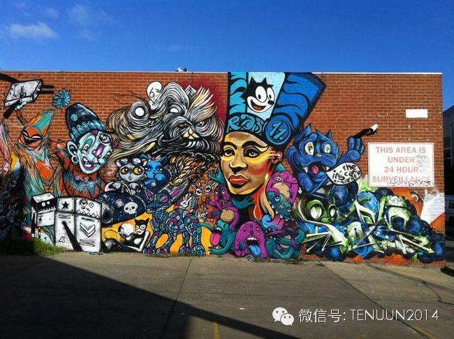 蒙古国街头墙壁上的绘画艺术 — 蒙古青年的涂鸦作品 第26张