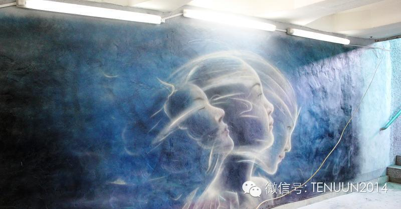 蒙古国街头墙壁上的绘画艺术 — 蒙古青年的涂鸦作品 第35张