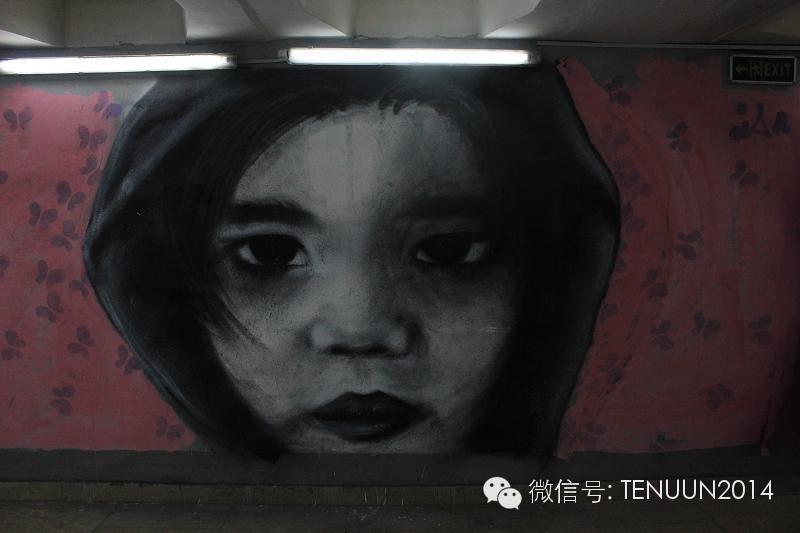 蒙古国街头墙壁上的绘画艺术 — 蒙古青年的涂鸦作品 第41张