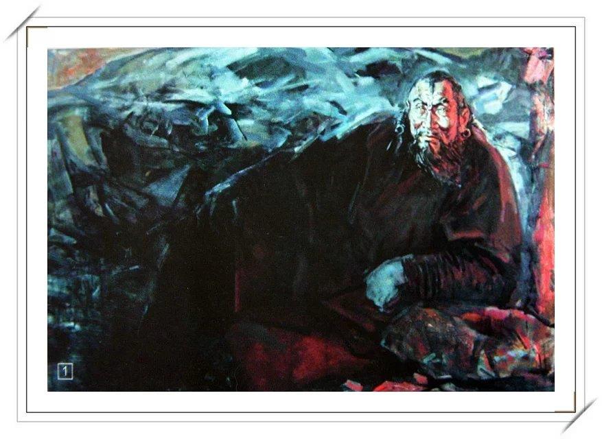 【民族艺术】蒙古风格绘画作品 —— 画笔下的民族风 第2张