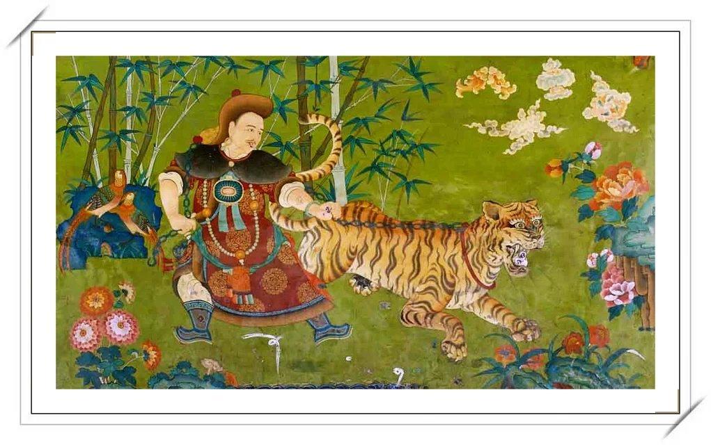 【民族艺术】蒙古风格绘画作品 —— 画笔下的民族风 第5张