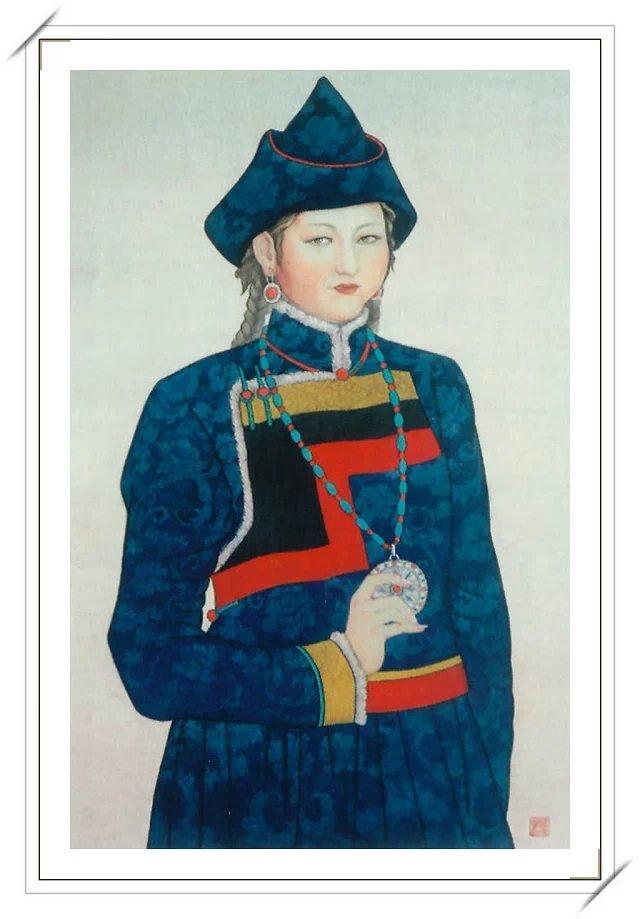 【民族艺术】蒙古风格绘画作品 —— 画笔下的民族风 第8张