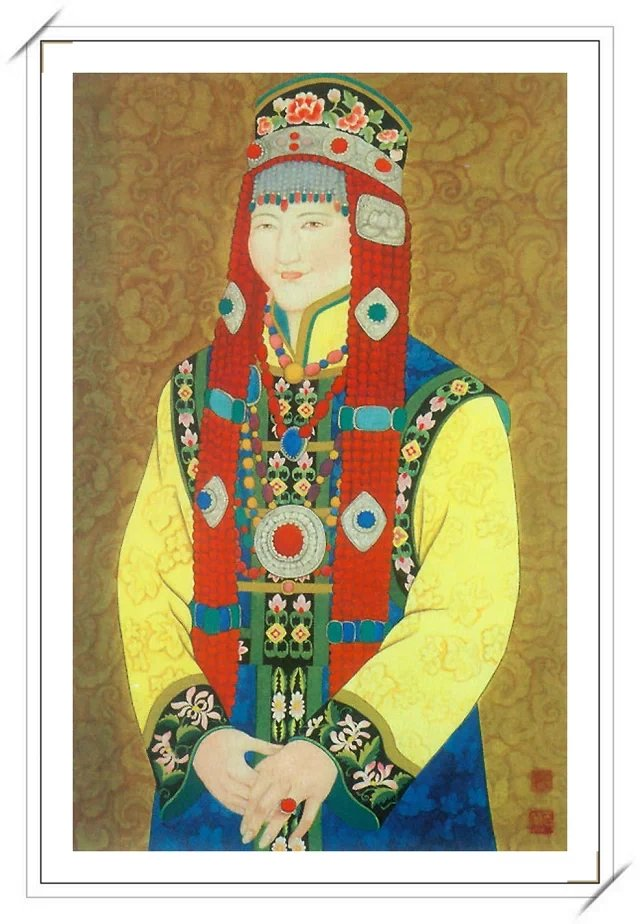 【民族艺术】蒙古风格绘画作品 —— 画笔下的民族风 第12张