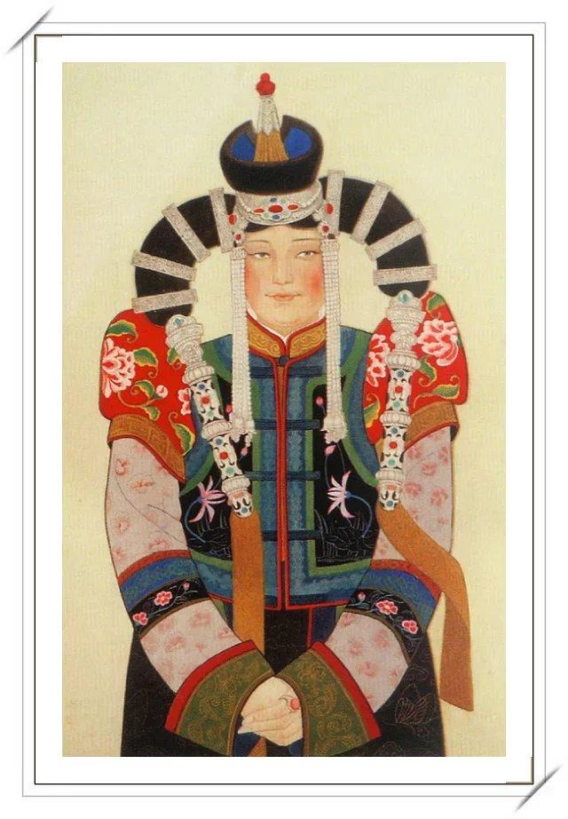 【民族艺术】蒙古风格绘画作品 —— 画笔下的民族风 第11张