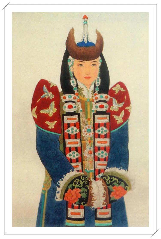 【民族艺术】蒙古风格绘画作品 —— 画笔下的民族风 第18张
