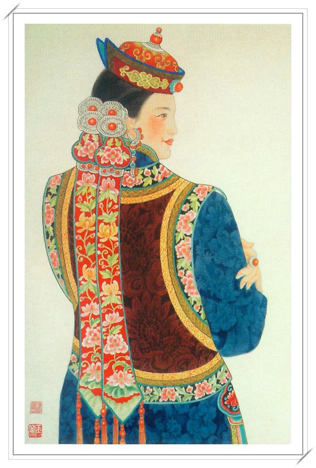 【民族艺术】蒙古风格绘画作品 —— 画笔下的民族风 第23张