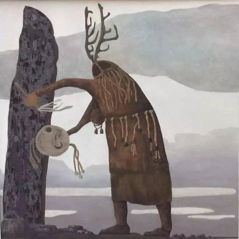 新塔娜绘画作品展播——对神与灵的追寻 第9张