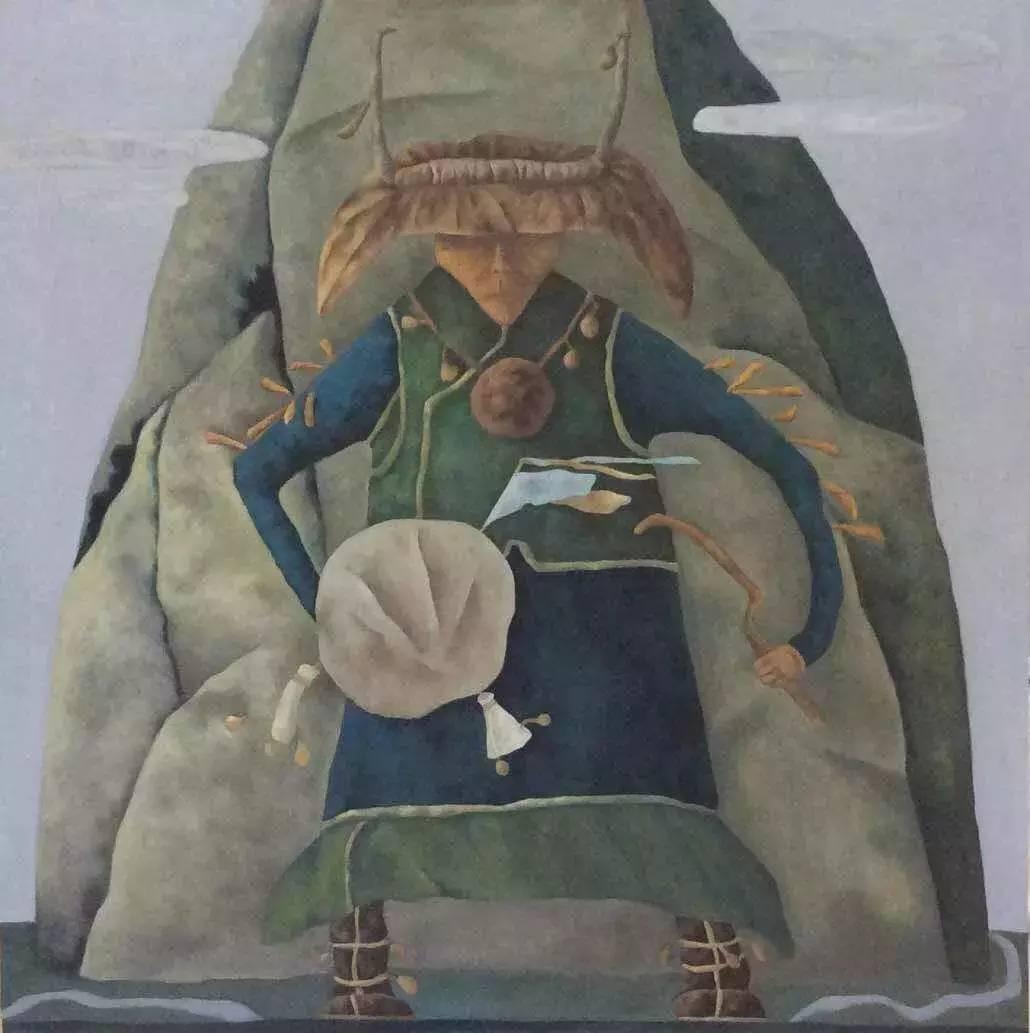 新塔娜绘画作品展播——对神与灵的追寻 第8张