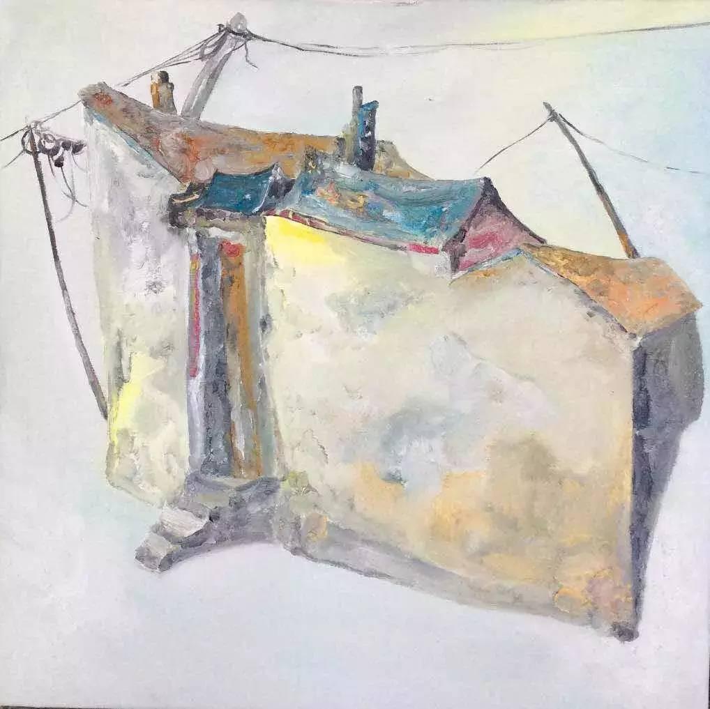 新塔娜绘画作品展播——对神与灵的追寻 第17张
