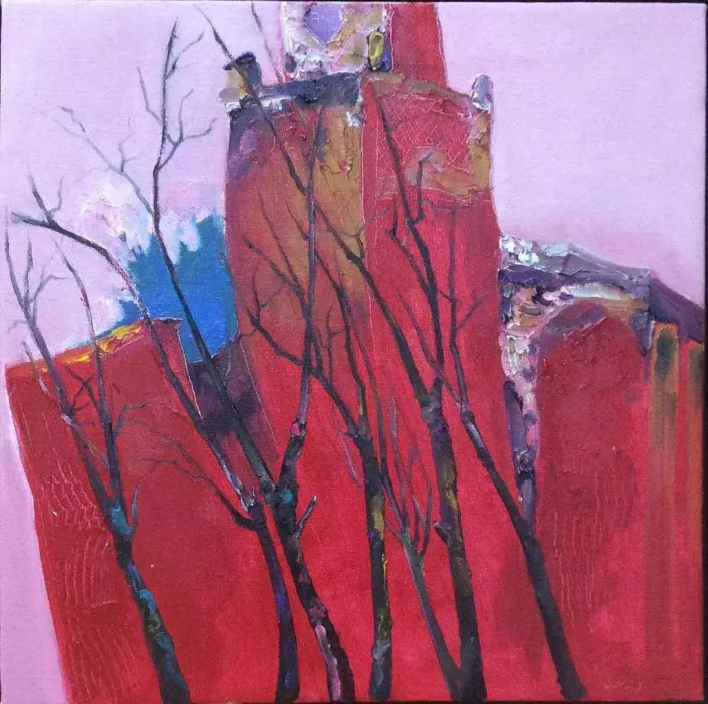 新塔娜绘画作品展播——对神与灵的追寻 第16张