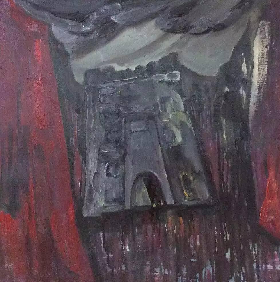 新塔娜绘画作品展播——对神与灵的追寻 第18张