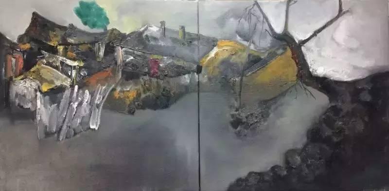 新塔娜绘画作品展播——对神与灵的追寻 第19张
