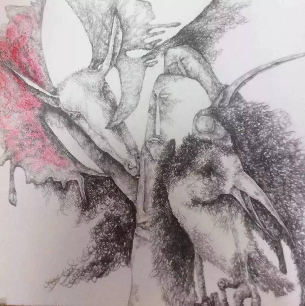 新塔娜绘画作品展播——对神与灵的追寻 第22张