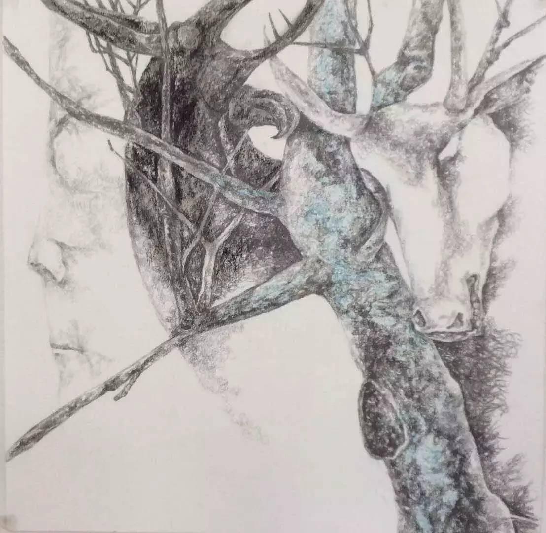 新塔娜绘画作品展播——对神与灵的追寻 第26张