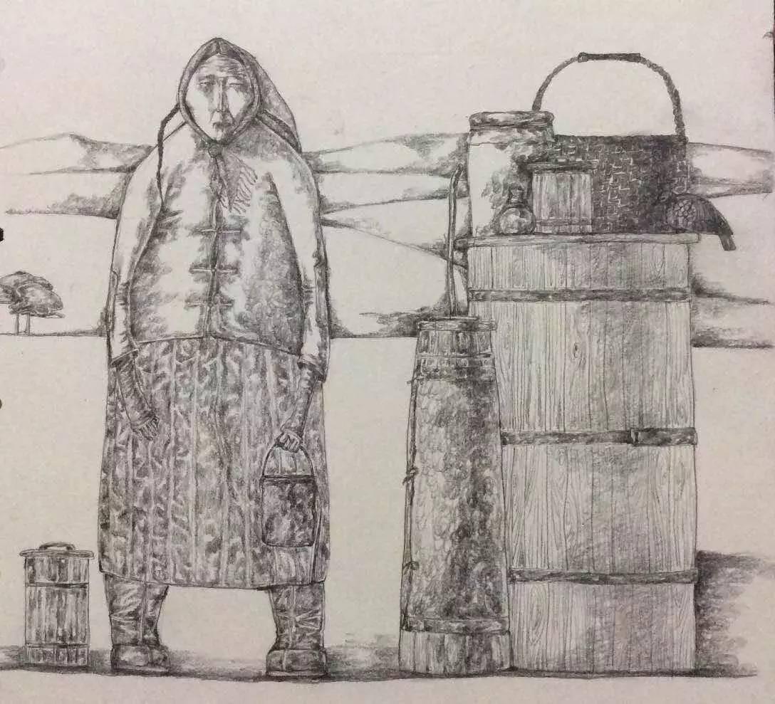 新塔娜绘画作品展播——对神与灵的追寻 第31张