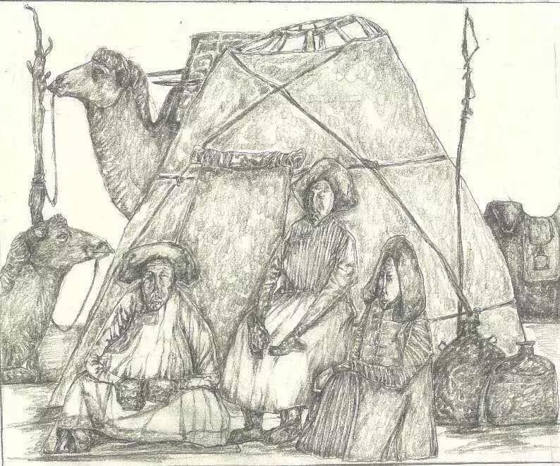 新塔娜绘画作品展播——对神与灵的追寻 第33张