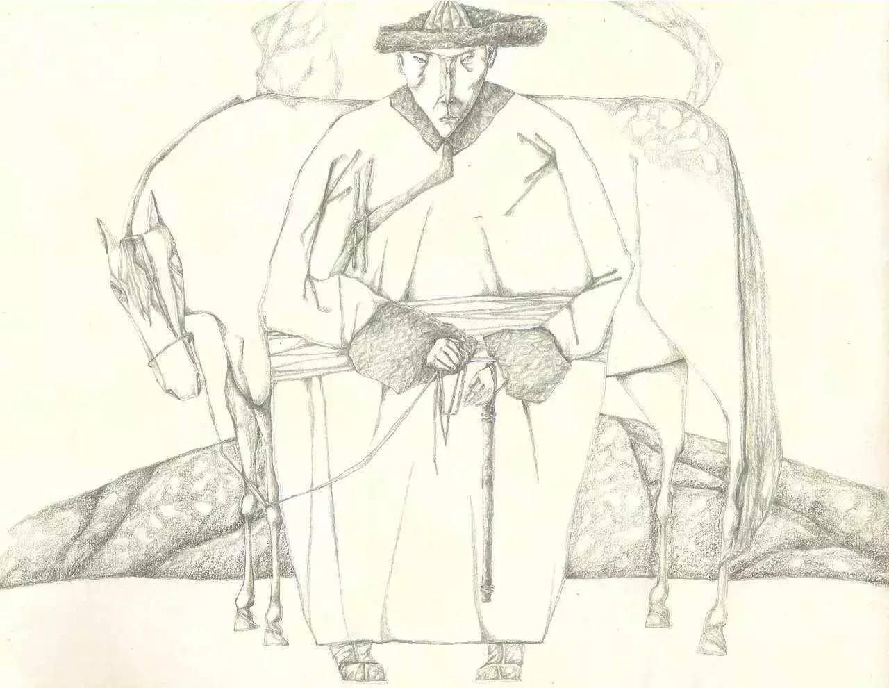 新塔娜绘画作品展播——对神与灵的追寻 第32张