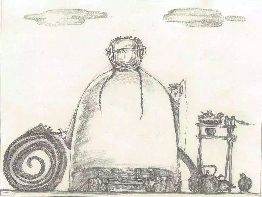 新塔娜绘画作品展播——对神与灵的追寻 第35张