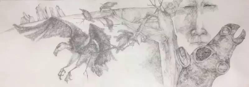 新塔娜绘画作品展播——对神与灵的追寻 第34张