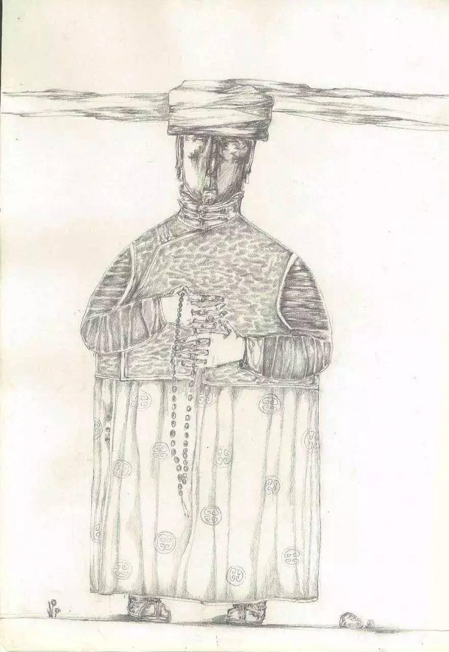 新塔娜绘画作品展播——对神与灵的追寻 第37张