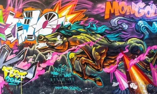 〖欣赏〗蒙古国街道上的绘画艺术 第11张