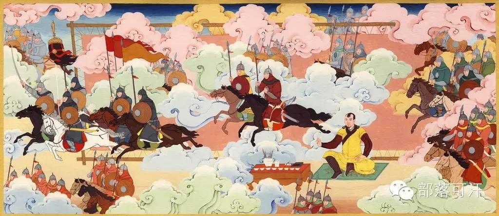 【经典】蒙古国上世纪绘画作品,那时的人那时的风景~ 第17张
