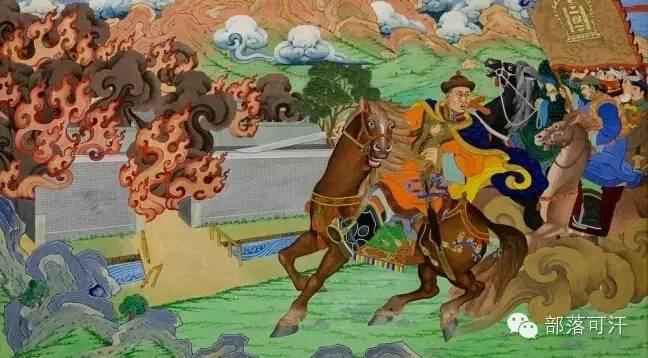 【经典】蒙古国上世纪绘画作品,那时的人那时的风景~ 第24张