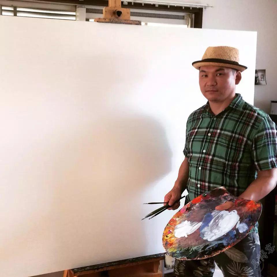 独具艺术感!蒙古国画家Zayasaikhan Sambuu的的作品每一幅值得收藏