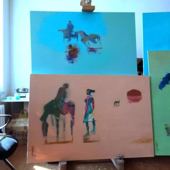 为了你的一本书,我们飞到蒙古去见九位艺术家 第7张