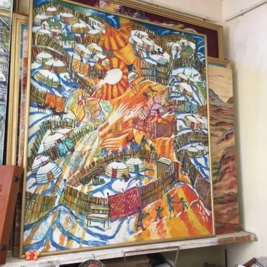 为了你的一本书,我们飞到蒙古去见九位艺术家 第13张