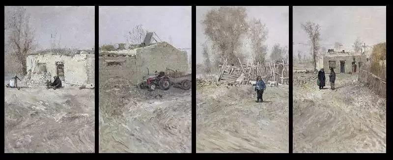 """""""聚焦新时代""""新疆实力派油画家——孟克巴依尔 第15张"""