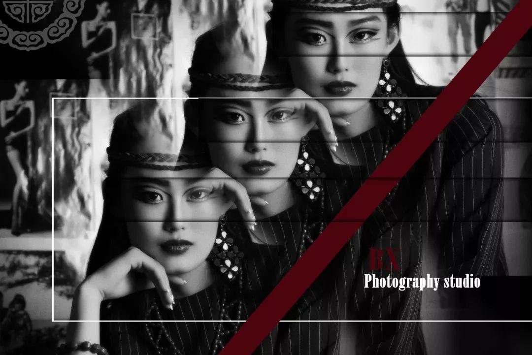 一组充满着视觉冲击力的蒙古时尚摄影作品、为摄影师点赞!
