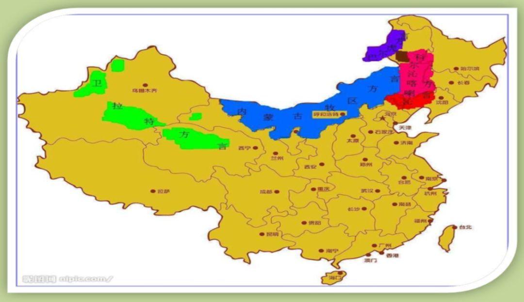 喀喇沁方言区     《中国语言地图集》对中国境内蒙古语的划分情况如