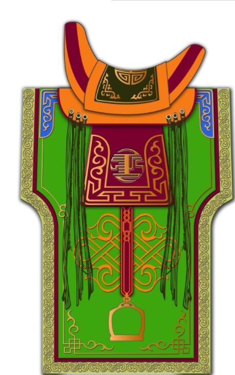 蒙古马鞍图片